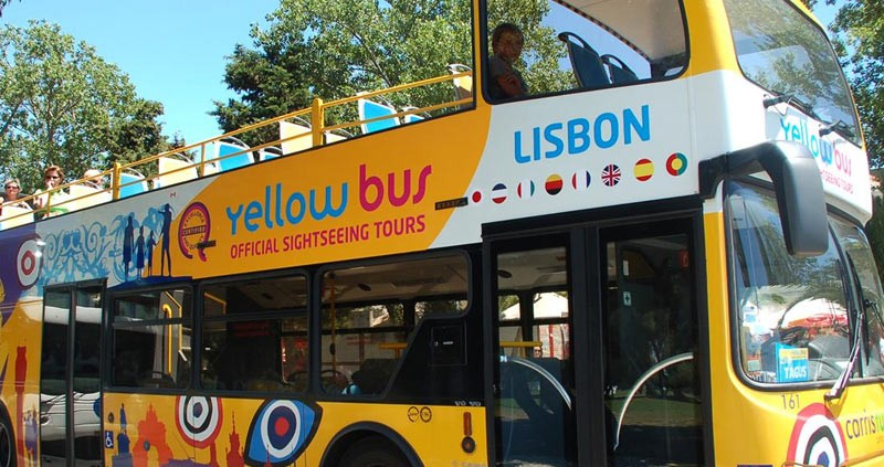 The Lisbon hop on hop off tour is a great way to get your bearings!
