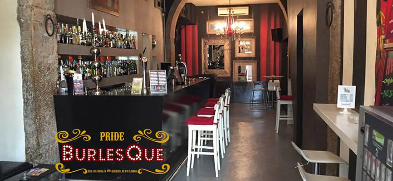 Pride Burlesque gay bar Lisbon